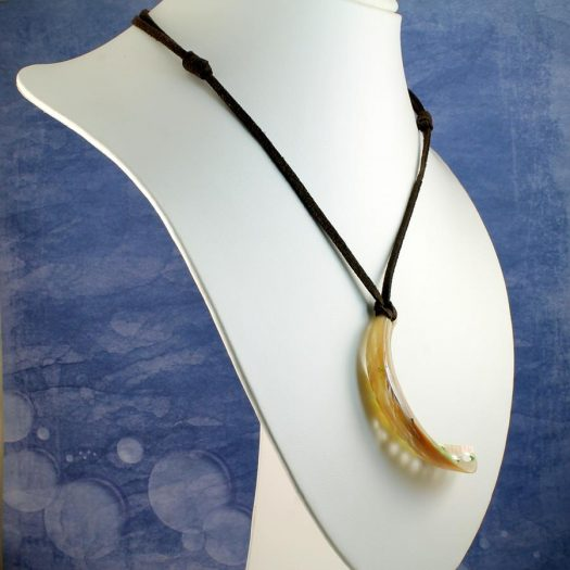 Abalone Shell Necklace N-0140-i