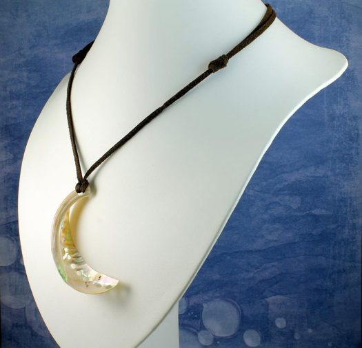 Abalone Shell Necklace N-0140-l