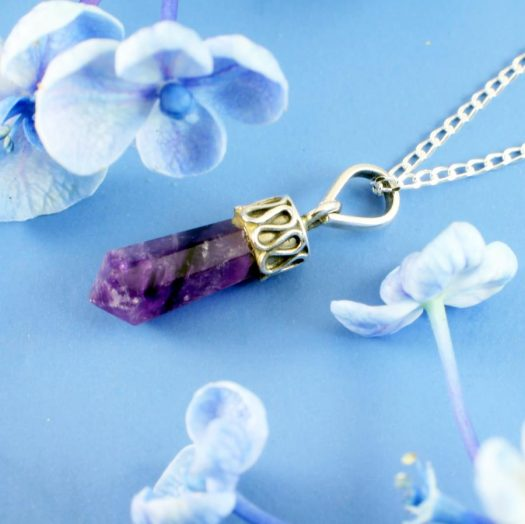 Amethyst Crystal Point N-0262-f