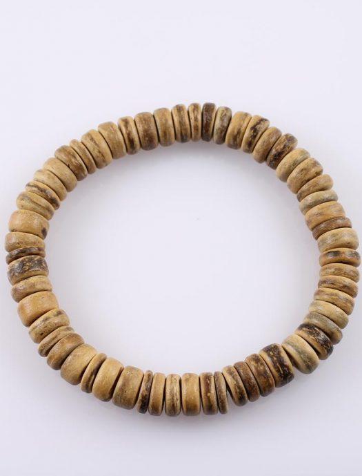 Wooden Bead Bracelet B-0103-a