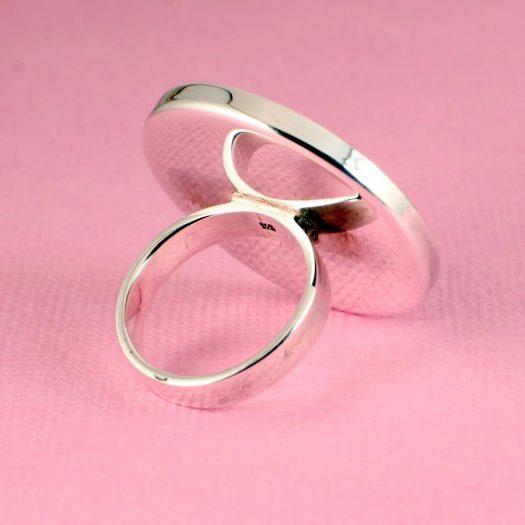 Blue Mondrian Ring R-0102-f
