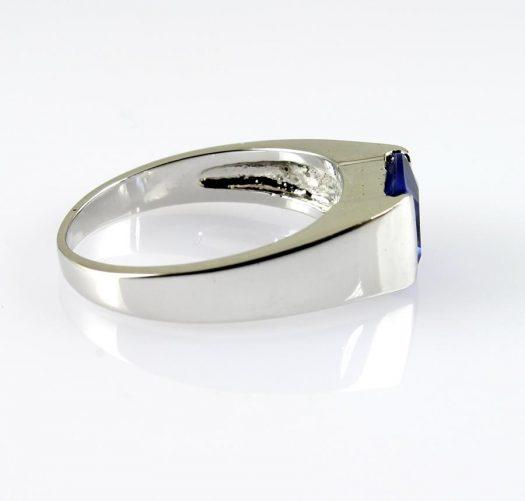 Blue Quartz Ring R-0194-d