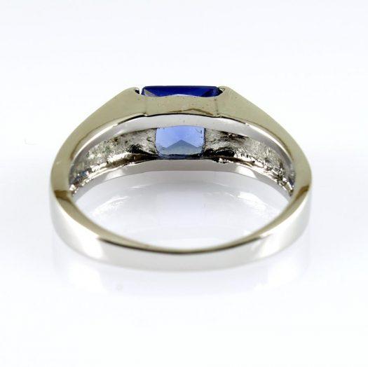 Blue Quartz Ring R-0194-e
