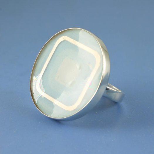 Blue Statement Ring R-0101-