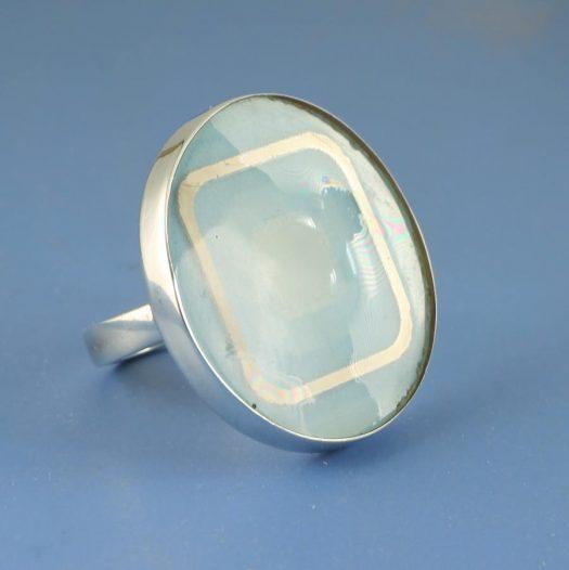 Blue Statement Ring R-0101-e