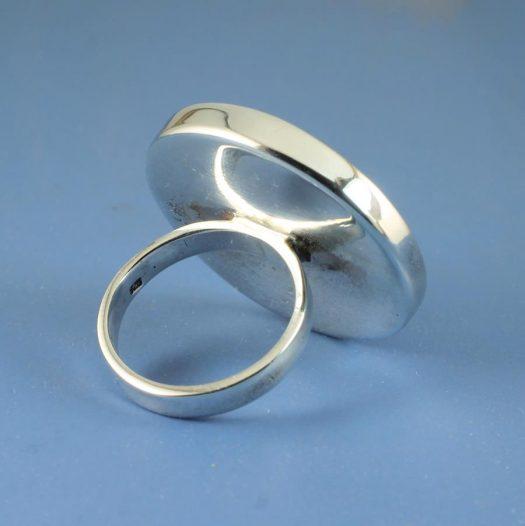 Blue Statement Ring R-0101-f