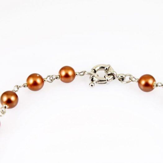 Bronze Freshwater Pearls N-0178-l