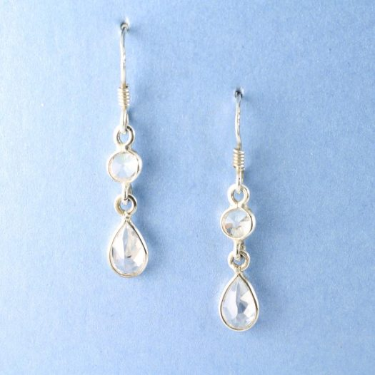 Clear Quartz Crystal Drops E-0182-d