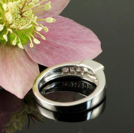 Clear Quartz Crystal Ring R-0184-i