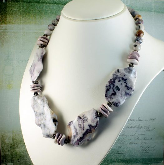 Crazy Lace Agate Statement N-0121-c
