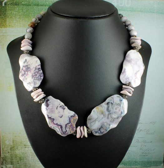 Crazy Lace Agate Statement N-0121-g