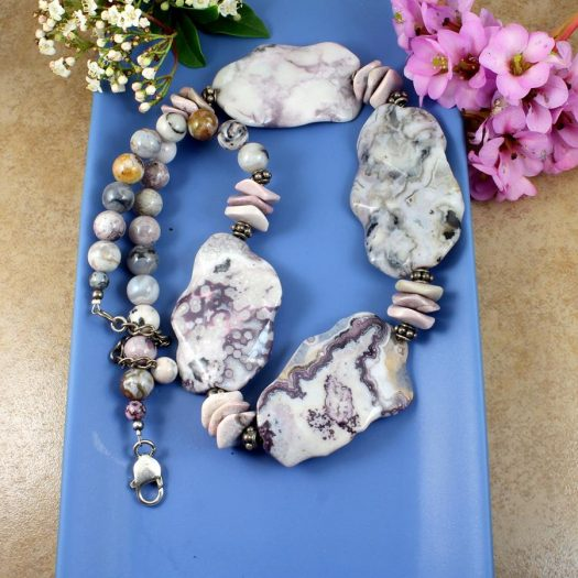 Crazy Lace Agate Statement N-0121-h