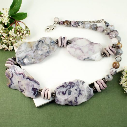 Crazy Lace Agate Statement N-0121-k