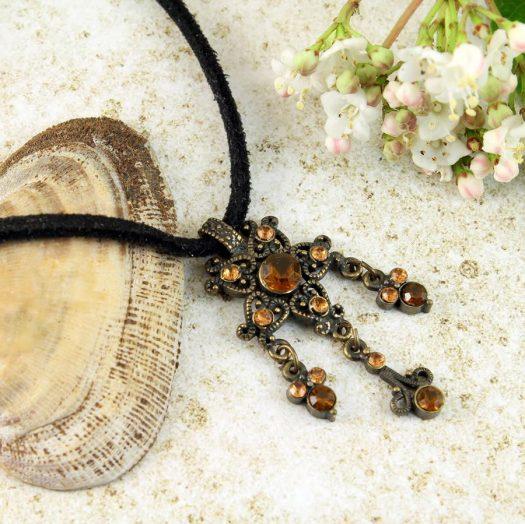 Honey Bronze Chandelier N-0177-g