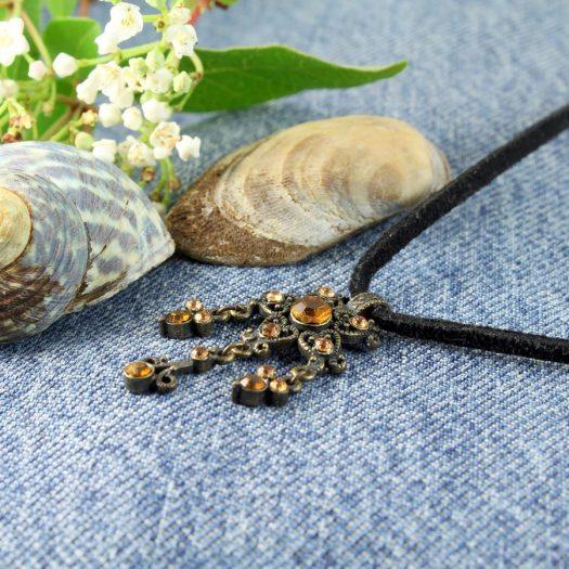 Honey Bronze Chandelier N-0177-k