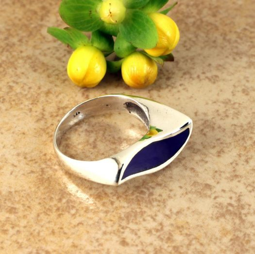 Lapis Lazuli Ring R-0195-h
