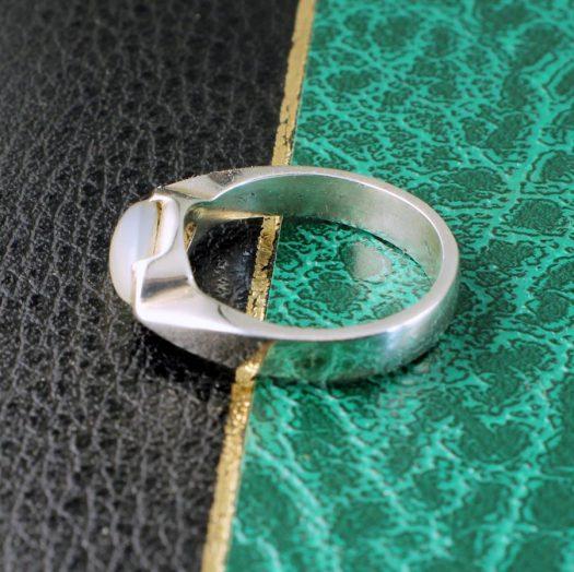 Moonstone Oval Ring R-0204-b