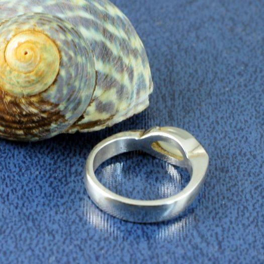 Moonstone Oval Ring R-0204-e