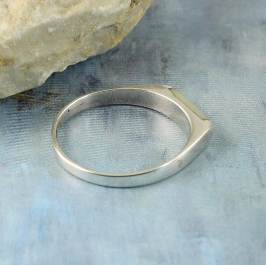 Moonstone Rectangle Ring R-0205-h