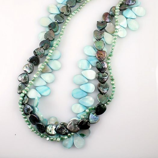 Mother-of-Pearl 3 Strand N-0101-b