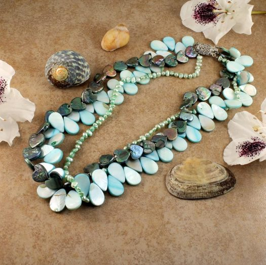 Mother-of-Pearl 3 Strand N-0101-c