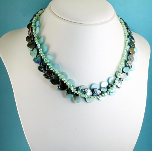 Mother-of-Pearl 3 Strand N-0101-d
