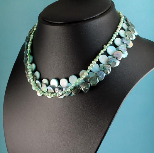 Mother-of-Pearl 3 Strand N-0101-f