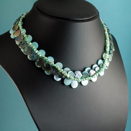 Mother-of-Pearl 3 Strand N-0101-h