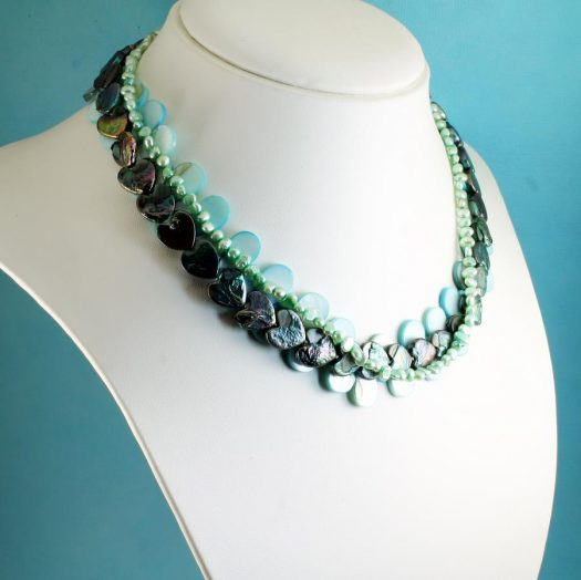 Mother-of-Pearl 3 Strand N-0101-j