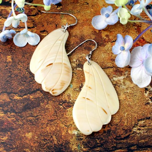 Mother-of-Pearl Butterfly Wings E-0111-a