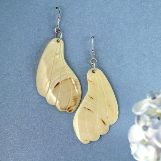 Mother-of-Pearl Butterfly Wings E-0111-b