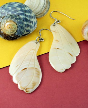 Mother-of-Pearl Butterfly Wings E-0111-c