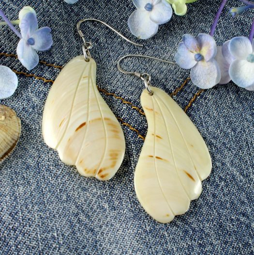 Mother-of-Pearl Butterfly Wings E-0111-f