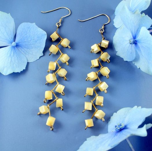 Mother-of-Pearl Cubes E-0108-f