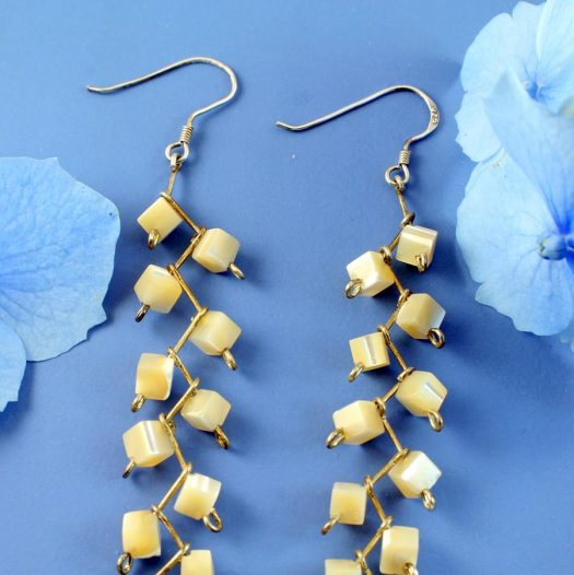 Mother-of-Pearl Cubes E-0108-h