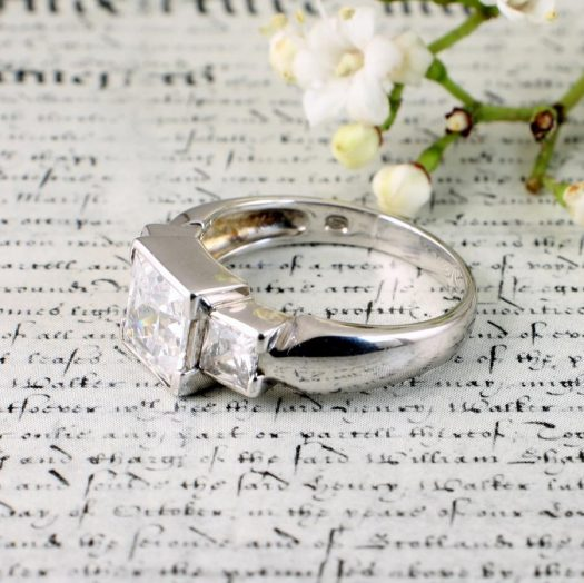 Quartz Crystal Ring R-0189-a