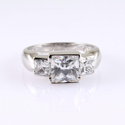 Quartz Crystal Ring R-0189-b