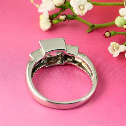 Quartz Crystal Ring R-0189-e