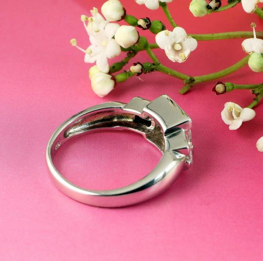 Quartz Crystal Ring R-0189-j