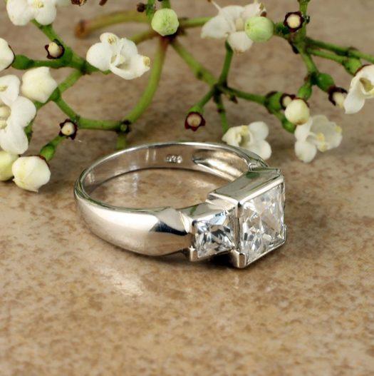 Quartz Crystal Ring R-0189-k