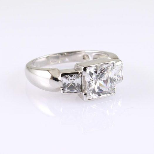 Quartz Crystal Ring R-0189-l
