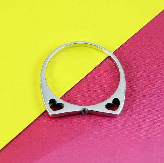 Quartz Crystal Ring R-0206-a
