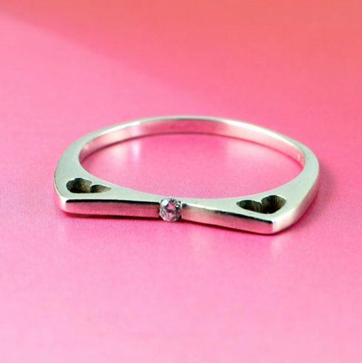 Quartz Crystal Ring R-0206-c