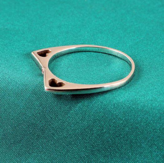 Quartz Crystal Ring R-0206-e