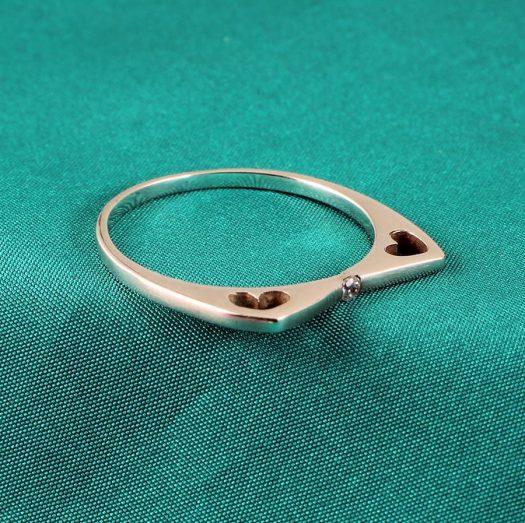 Quartz Crystal Ring R-0206-f