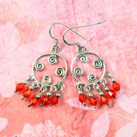 ed Chandelier Earrings E-0198-d