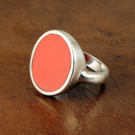 Red Coral Ring R-0104-a