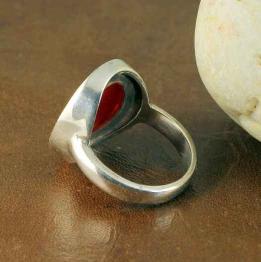 Red Coral Ring R-0104-d