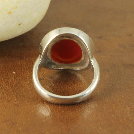 Red Coral Ring R-0104-e