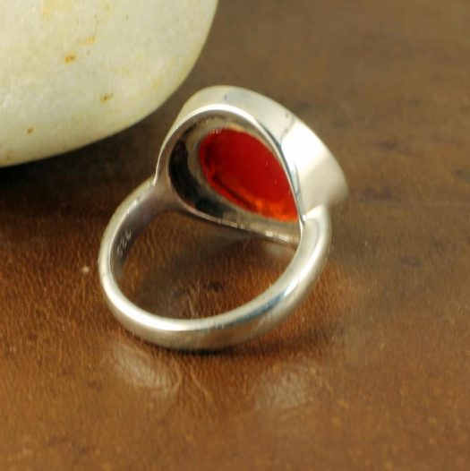 Red Coral Ring R-0104-f